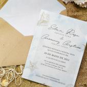 Invitación MARINA 🌊 ¡¡Para los amantes del mar y la playa!! Es una #invitaciondeboda elegante y fina, decorada con elementos marinos en tonos cálidos. ➡ Texto impreso en papel vegetal.¡¡Recuerda!! Si tienes que cambiar la fecha de tu boda a causa de las restricciones por COVID, te reimprimimos las invitaciones por ✨✨ SÓLO 15 EUROS ✨✨#comotinta #bodasenlaplaya #bodaselegantes #bodasoriginales #bodasbonitas #bodas2021 #bodas2022 #wedding #wedding2021 #wedding2022